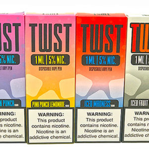 Twist disposable vape