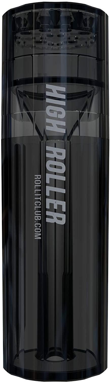 HIGHROLLER | Transparent Herb & Spice Grinder | Grind & Pack in 30 secs! (Smoke)
