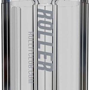 HIGHROLLER | Transparent Herb & Spice Grinder | Grind & Pack in 30 secs! (Clear)
