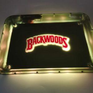 Glow Tray x BackwoodsLED Rolling Tray Yellow