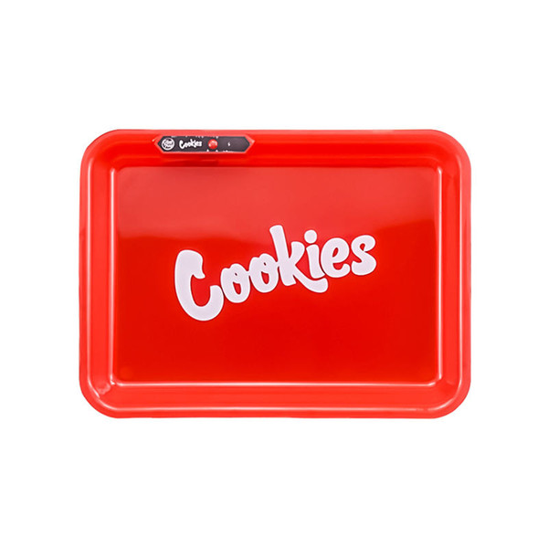 GlowTray x Cookies SF LED Rolling Glow Light Up Tray Rechargeable Red