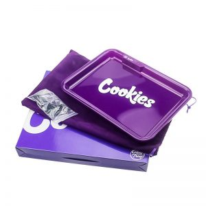 GlowTray x Cookies SF LED Rolling Glow Light Up Tray Rechargeable Purple