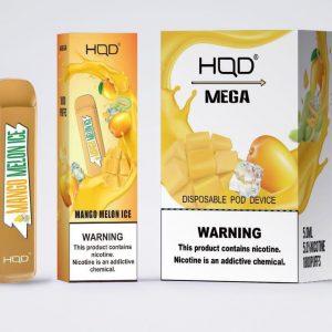 HQD MEGA 1800 puffs Mango Melon Ice