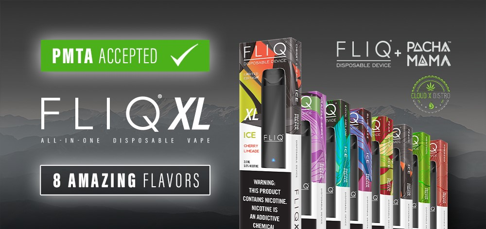 FLIQ XL Vape Shop