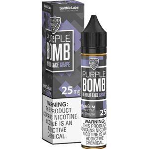 purple bomb saltnic ejuice