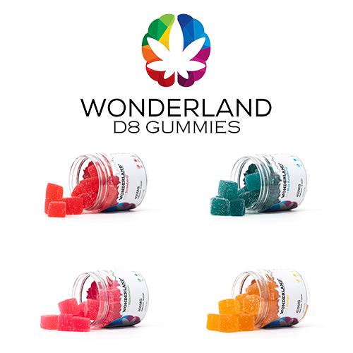 Wonderland D8 Vegan Gummies
